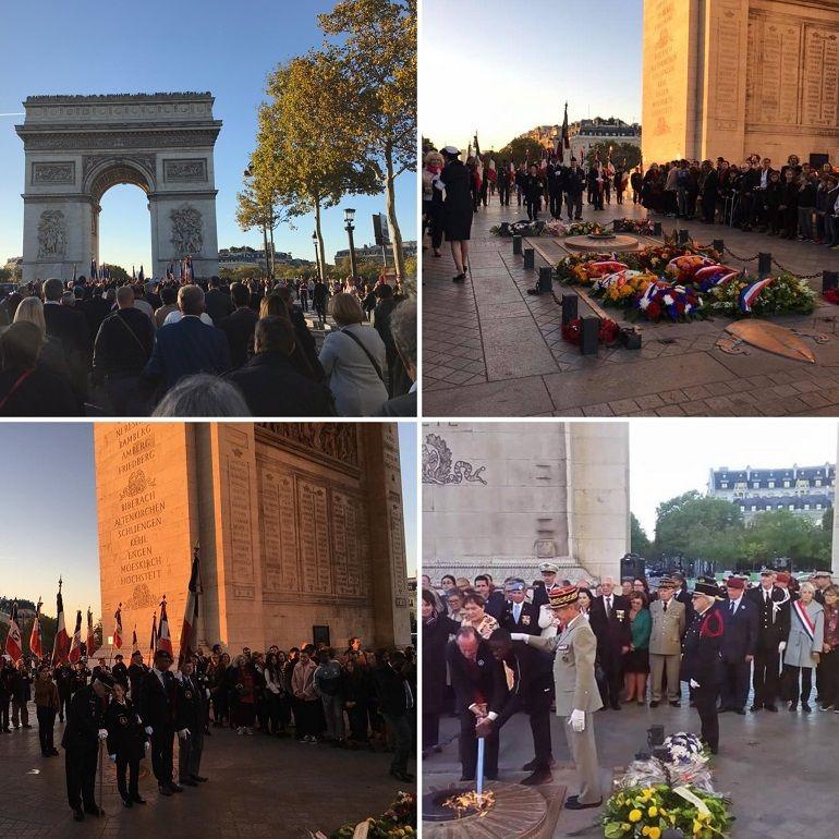 Cent ans après, les Français de l'étranger rendent un hommage vibrant aux combattants de la grande guerre