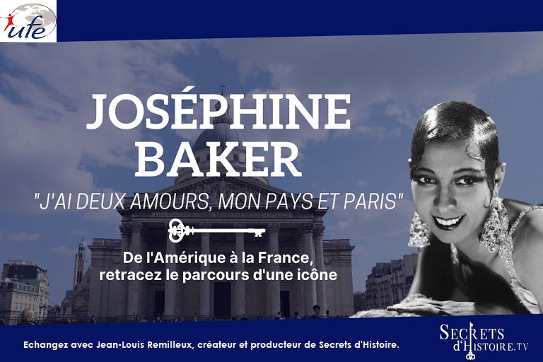 Secret d'histoire Josephine baker